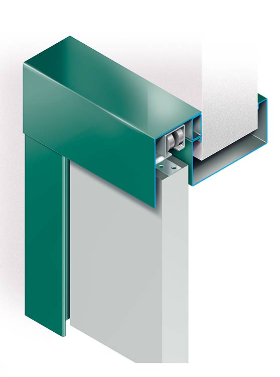 SLIDE / Telaio scorrevole esterno parete - rema | High Quality Steel ...